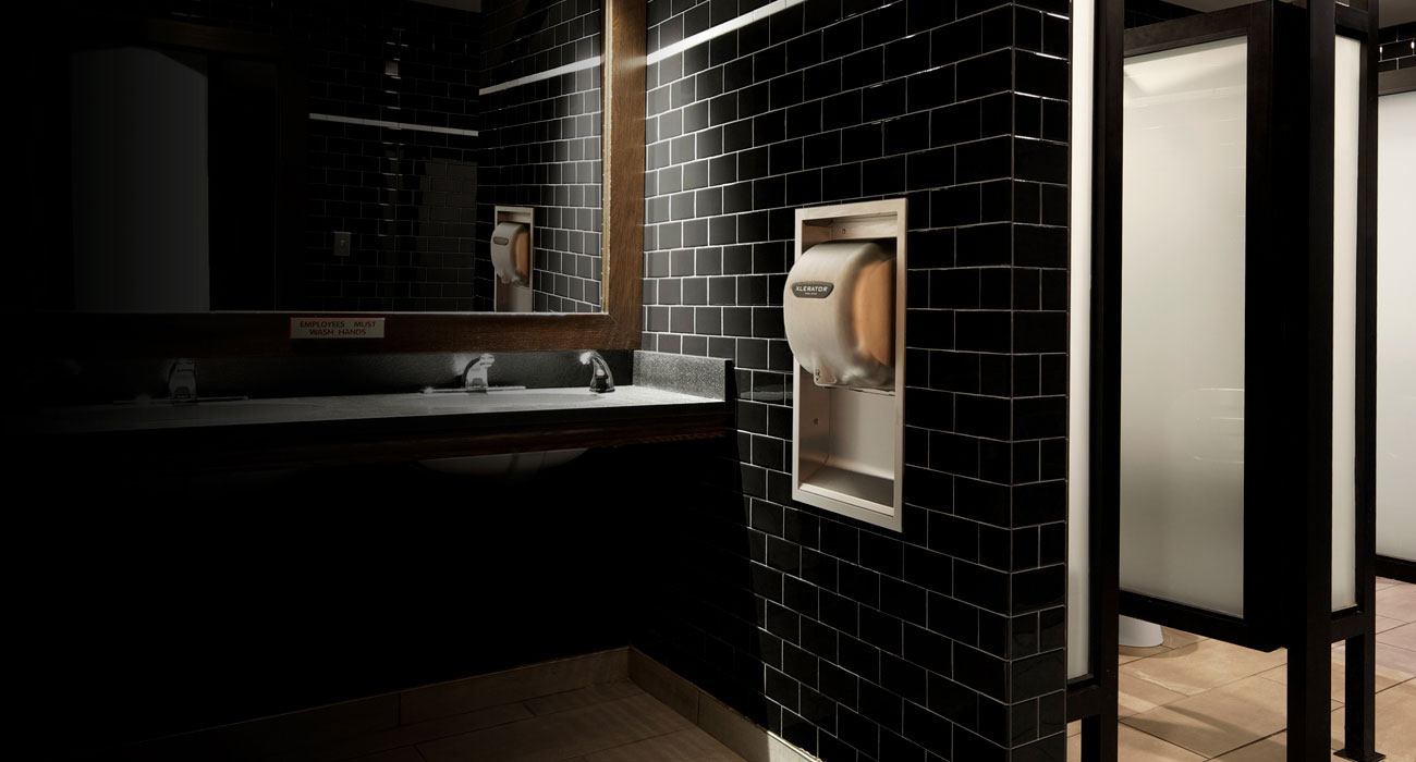 Installed Commercial Hand Dryer
