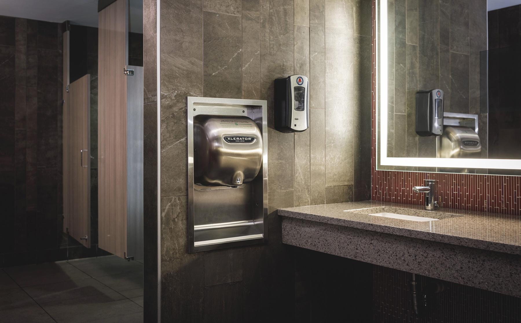 Xlerator 174 Hand Dryer 8 Second Dry Time