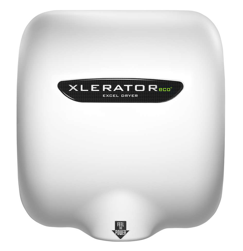 XLERATOReco Hand Dryer BW-ECO White Thermoset (BMC) Cover