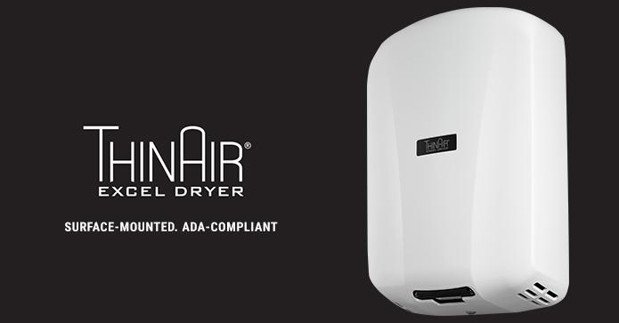 ThinAir ADA Compliant Hand Dryer