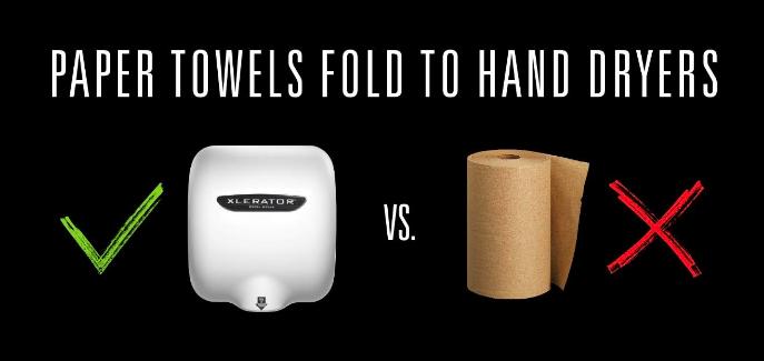 Paper Towels vs Hand Dryers